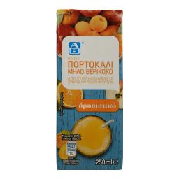 Χυμός Νέκταρ Πορτοκάλι Μήλο 250ml