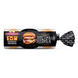 Ψωμάκια Hamburger 480gr 5+1 Δώρο