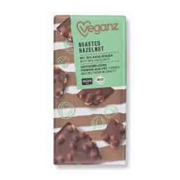 Σοκολάτα Bio Καβουρδισμένα Φουντούκια 80g