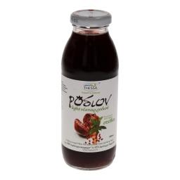 Φρέσκος Χυμός Νέκταρ Ρόδι 100% Με Στέβια 300 ml