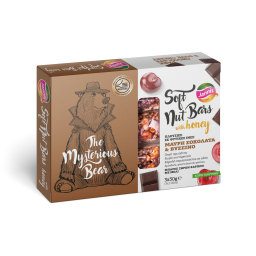 Μπάρες Ξηρών Καρπών Μέλι Μαύρη Σοκολάτα & Βύσσινο 3x30g Έκπτωση 1Ε