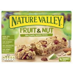 Μπάρες Δημητριακών Fruit & Nut Μήλο Σταφίδα 4x30g