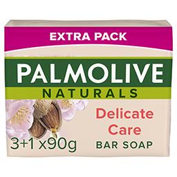 Σαπούνι Naturals Γάλα Αμυγδάλου 4x90g 3+1 Δώρο