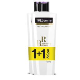Conditioner Biotin Repair Ταλαιπωρημένα Μαλλιά 400ml 1+1 Δώρο