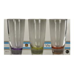 Ποτήρια Νερού 48cl 3 Τεμάχια