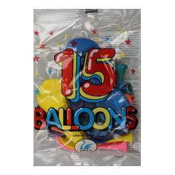 Μπαλόνια  15 Τεμάχια