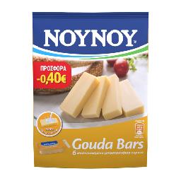Gouda Bars Ατομικά Συσκευασμένα Μπαστουνάκια 6x20g Έκπτωση 0.40Ε