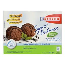 Μείγμα Παγωτού Σοκολάτα 216g