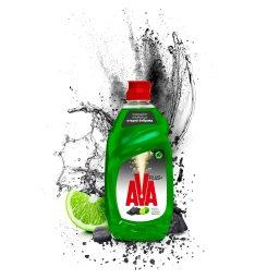 Υγρό Πιάτων Plus Πράσινο Λεμόνι 430ml