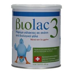 Γάλα Βρεφικό Σκόνη Βιολογικό 3ης Βρεφικής Ηλικίας 400gr