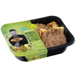 Μπιφτέκι Λαχανικών Vegan με Πατάτες Φούρνου 350g