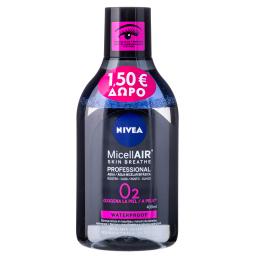 Νερό Καθαρισμού Προσώπου Micellair Skin Breath Professional 400ml Έκπτωση 1.5Ε