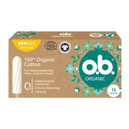 Ταμπόν Organic Normal 16 Τεμάχια