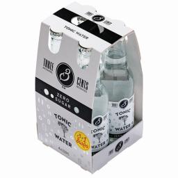 Αναψυκτικό Tonic Water Zero 4x200ml 3+1 Δώρο