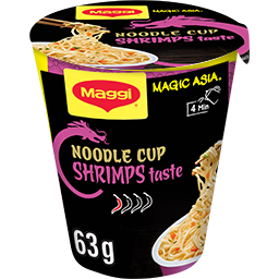 Noodles Cup Shrimps Magic Asia Γαρίδα 64gr