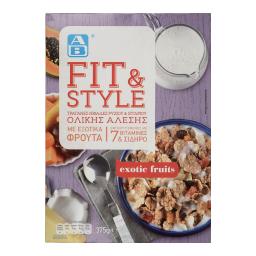 Δημητριακά Fit & Style Εξωτικά Φρούτα 375gr