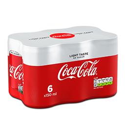 Αναψυκτικό Cola Light Κουτί 6 X 150ml