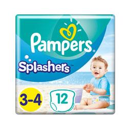 Πάνες βρακάκι Μαγιό Μωρού Splashers Νο3-4 6-11kg 12 Τεμάχια