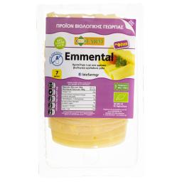Τυρί Emmental Bio Χωρίς Λακτόζη Φέτες 150g