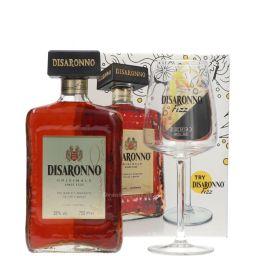 Λικέρ Disaronno Originale 700ml + Fizz Ποτήρι