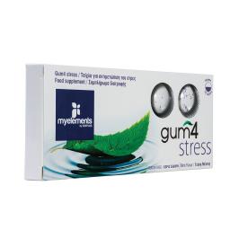 Τσίχλα Gum4 Stress Μέντα 17g