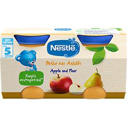 ΠαιδικήΤροφή Μήλο Αχλάδι  2 Χ 125 gr