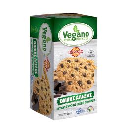 Μπισκότα Φυτικά Vegano Μαύρη Σοκολάτα 170g