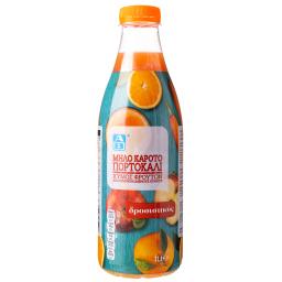 Φυσικός Χυμός Καρότο Μήλο Πορτοκάλι 1lt