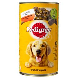 Υγρή Τροφή Σκύλων Ζελέ Κονσέρβα Μοσχάρι 1.2kg