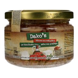 Σάλτσα Κρητική Παραδοσιακή Βαζάκι 220g