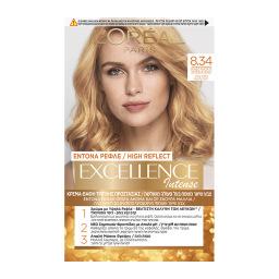 Βαφή Μαλλιών Σετ Νο 8.34 Intense Ξανθό Ανοιχτό Χρυσοχάλκινο 48 ml