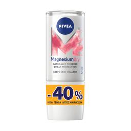 Αποσμητικό Roll On Magnesium Dry Original 50ml Έκπτωση 40%