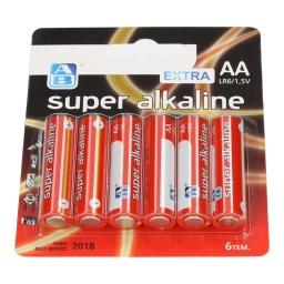 Μπαταρίες Αλκαλικές Super AA 6 Τεμάχια