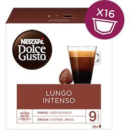 Κάψουλες Καφέ Dolce Gusto Lungo Intenso  16 τεμάχια