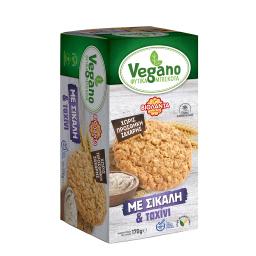 Μπισκότα Φυτικά Vegano Σίκαλη & Ταχίνι 170g