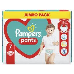 Πάνες Βρακάκι Μωρού Pants Νο7 17kg+ Jumbo Pack 38 Τεμάχια