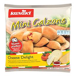 Πιτάκια Κατεψυγμένα Mini Calzone Cheese Delight 450gr