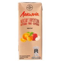 Χυμός Νέκταρ Πορτοκάλι Μήλο Βερίκοκο 250ml