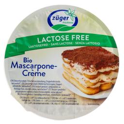 Τυρί Mascarpone Βιολογικό Χωρίς Λακτόζη 250g