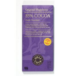 Μαύρη Σοκολάτα 85% Κακάο 100gr
