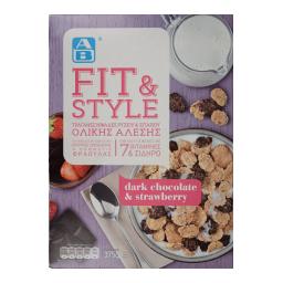Δημητριακά Fit & Style Σοκολάτα Φράουλα 375gr