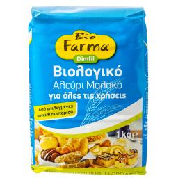 Αλεύρι Μαλακό Βιολογικό Για Όλες τις Χρήσεις 1kg