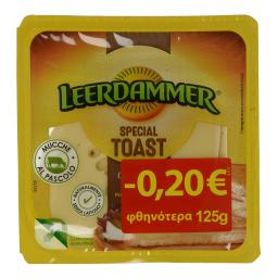 Τυρί Ημίσκληρο Φέτες 125gr Έκπτωση 0.20Ε