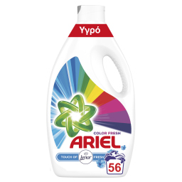 Υγρό Πλυντηρίου Ρούχων Touch of Lenor Color 56 Μεζούρες