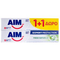 Οδοντόκρεμα Expert Protection Fresh Naturals 75ml 1+1 Δώρο 1+1