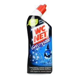 Υγρό Καθαριστικό Λεκάνης Gel Crystal Blue Fresh 750ml