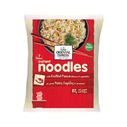 Noodles Ψητές Γαρίδες Λαχανικά 87g
