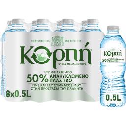 Νερό Φυσικό Μεταλλικό 8x500ml