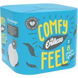 Χαρτί Υγείας Comfy Feel 3 Φύλλα 8 Τεμάχια