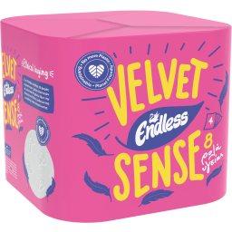 Χαρτί Υγείας Velvet Sense 4 Φύλλα 8 Τεμάχια